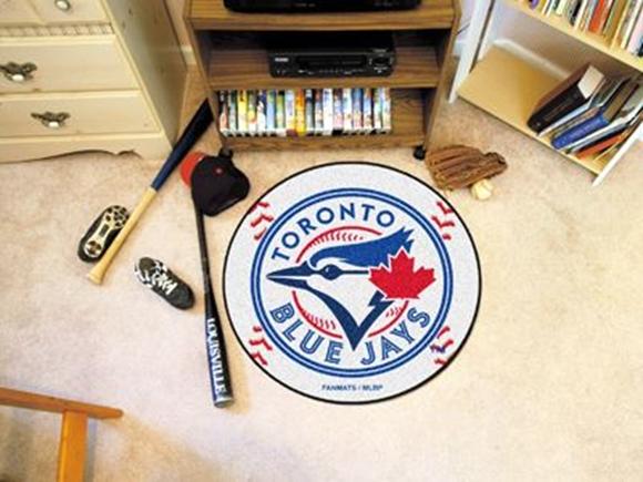 "Picture of MLB - Toronto Blue Jays Baseball Mat 27"" diameter"