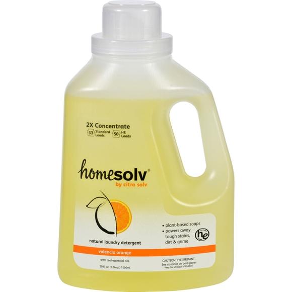 Picture of Case of 6- CitraSolv Citra Suds Liquid Laundry Detergent - Valencia Orange  50 oz