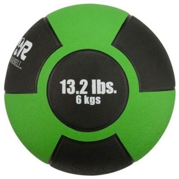 Picture of Champion Barbell Rubber Medicine Ball - 13.2lbs