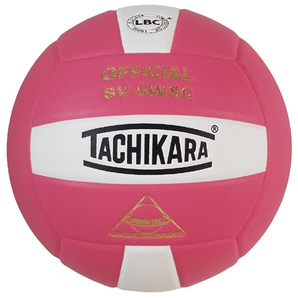 Picture of Sensi-Tec ® Composite SV-5WSC Volleyball- Pink/White