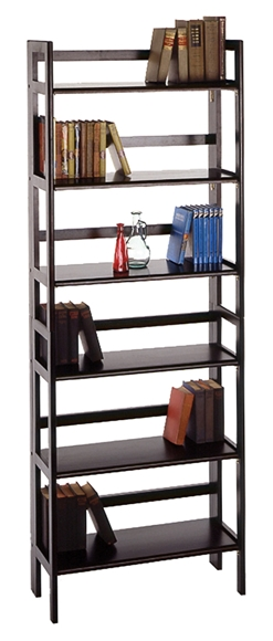 Picture of Terry Folding Bookcase Black