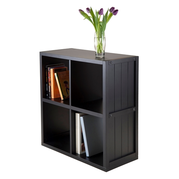 Picture of Shelf 2 x 2 Cube with Wainscoting Panel