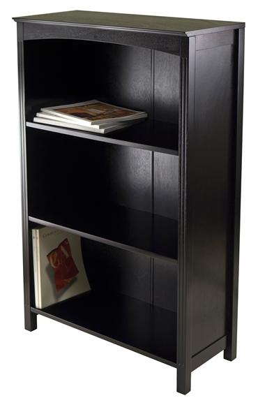 Picture of Terrace Storage Shelf 4-Tier in Espresso Finish